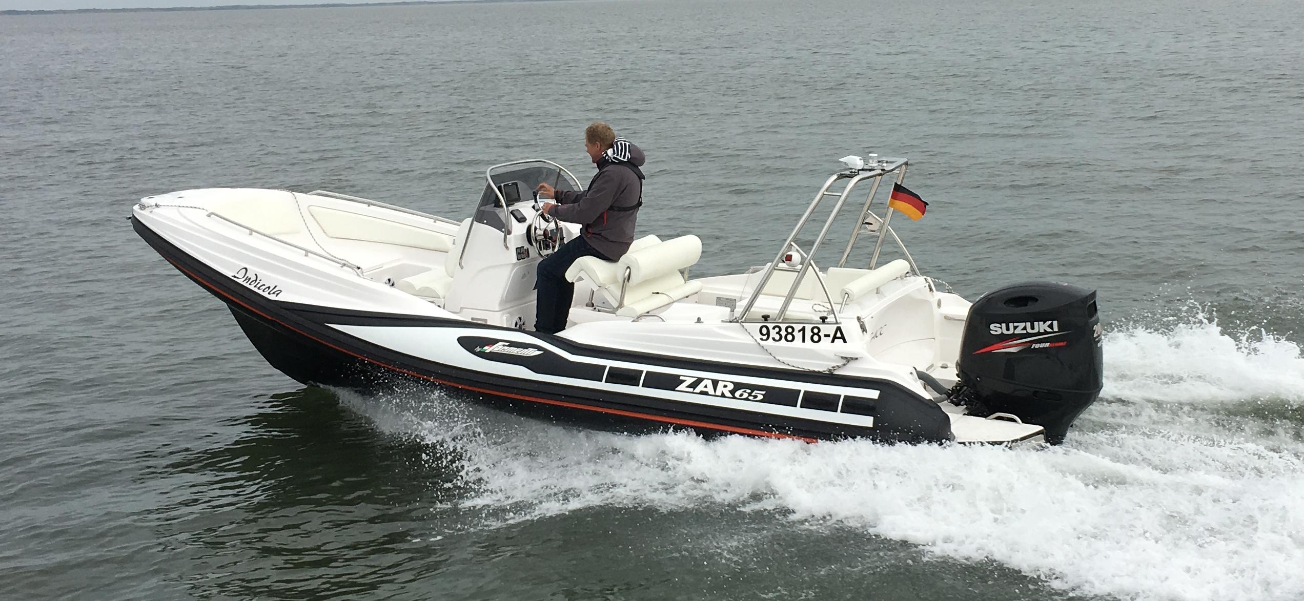 ZAR 65 auf Probefahrt auf der Nordsee