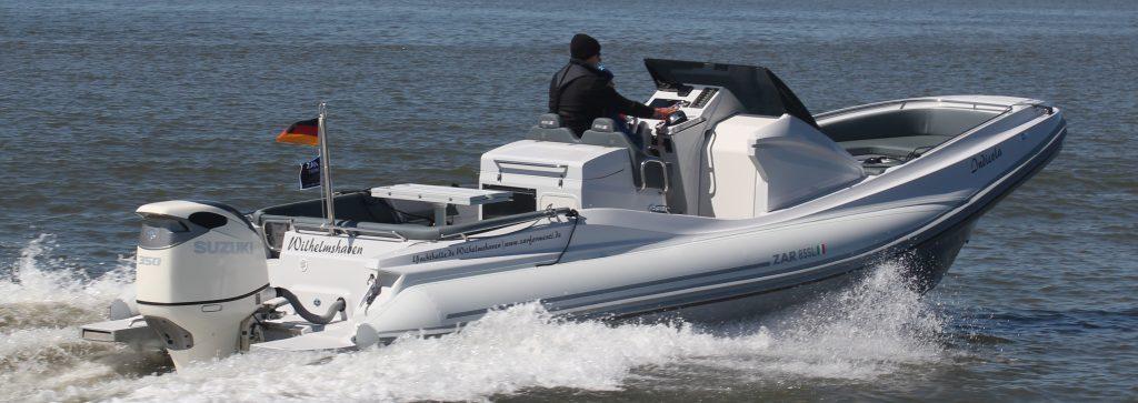 ZAR 85 SL in Fahrt auf der Nordsee