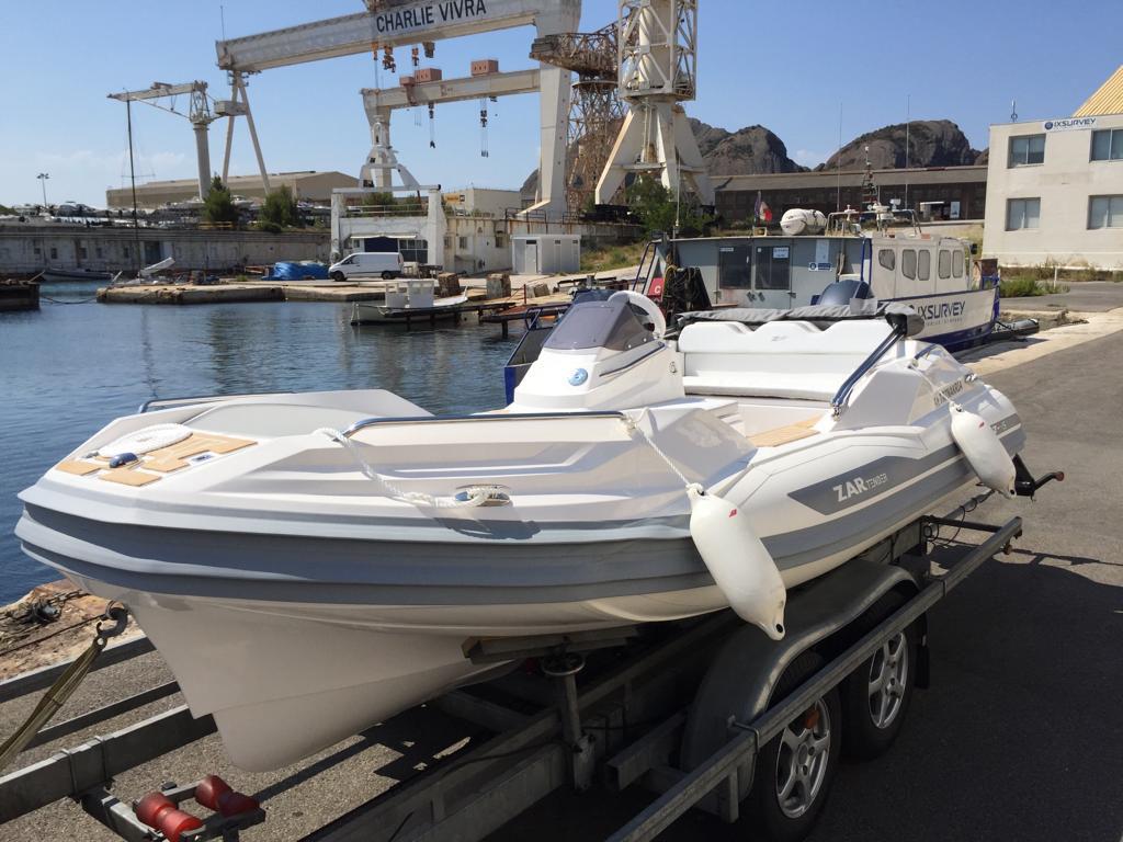 ZAR Tender ZF5 als Yachttender