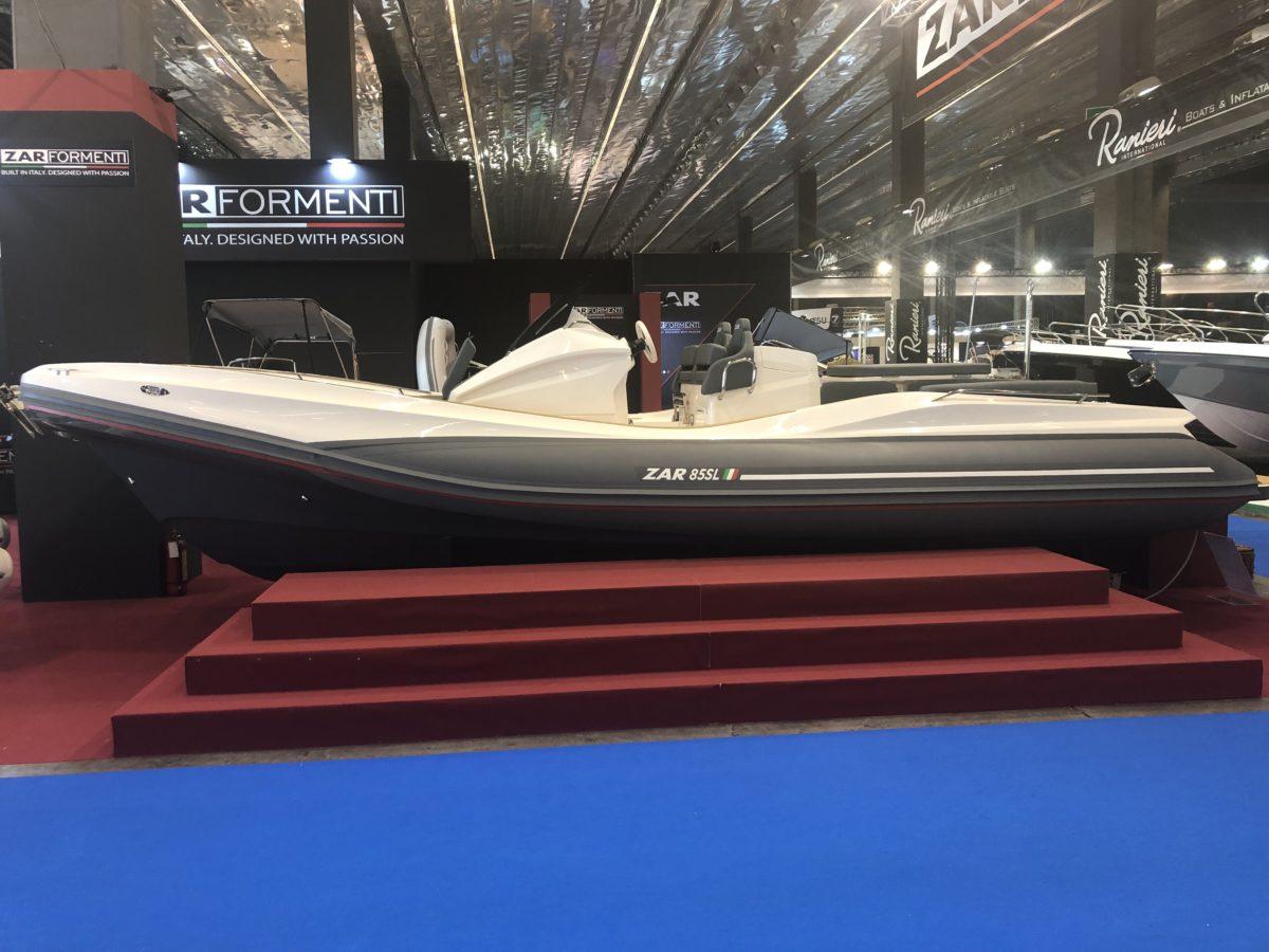 ZAR 85 SL auf der Genua Boat Show
