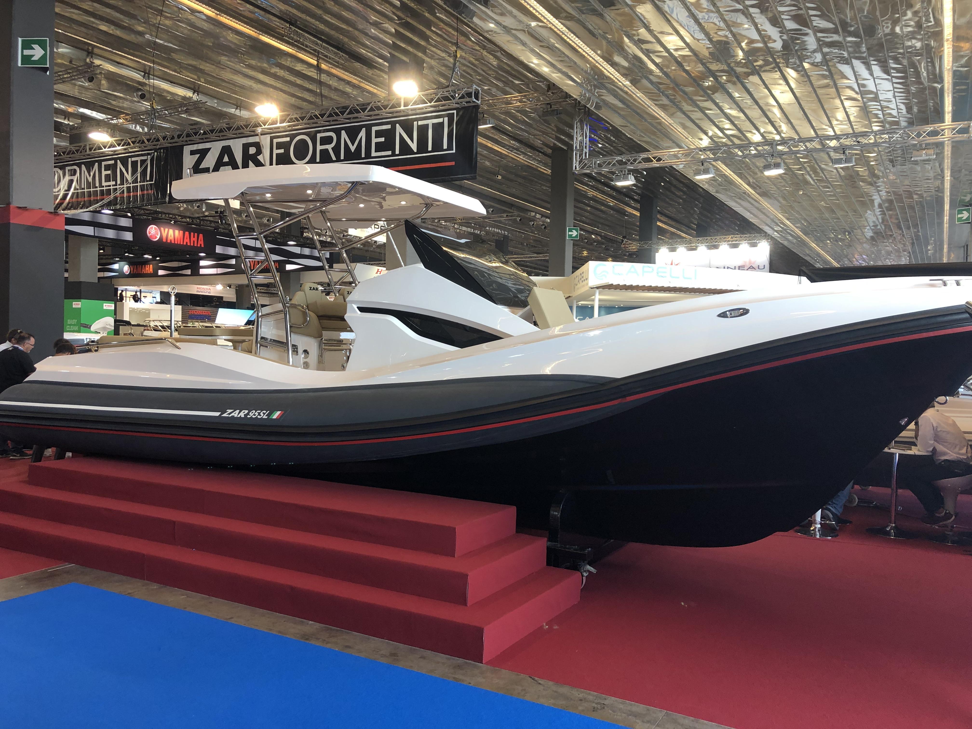 ZAR 95 SL auf der Bootsausstellung in Düsseldorf