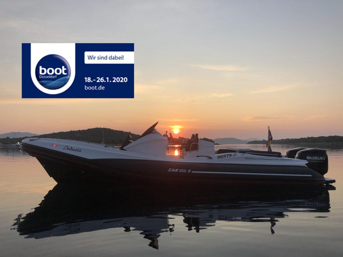 ZAR 85 SL bei Sonnenaufgang in Kroatien
