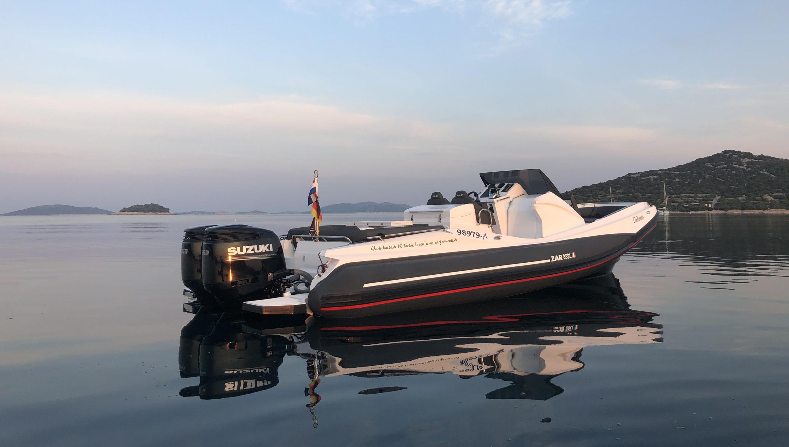 ZAR 85SL vor der Küste Kroatiens