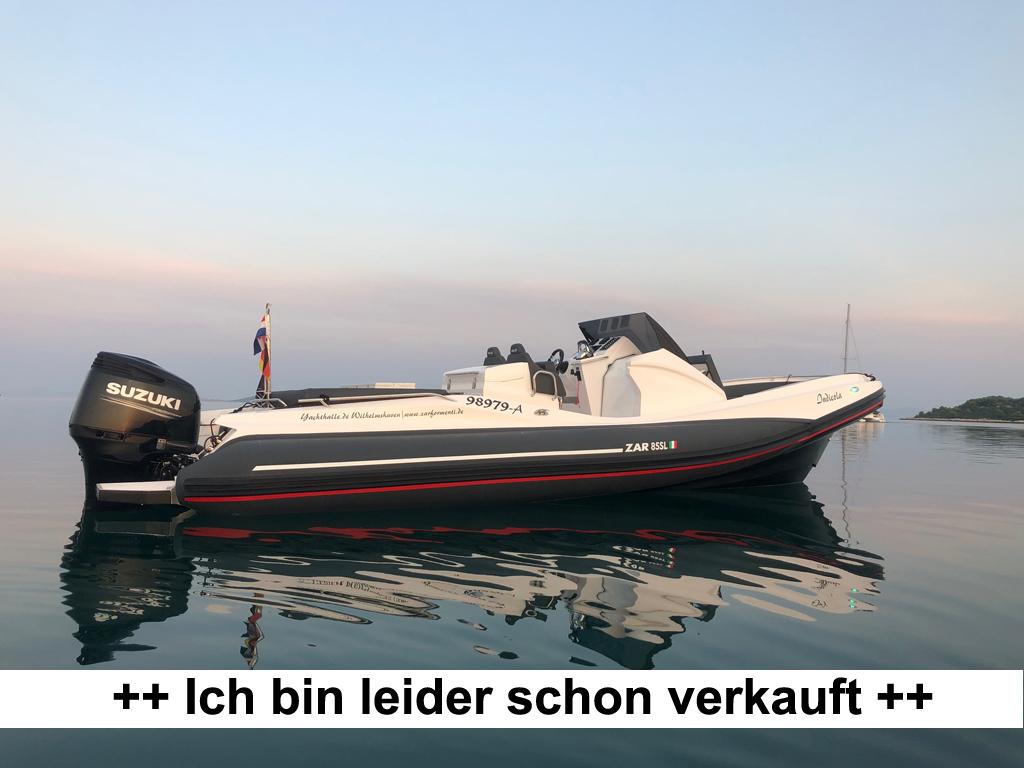ZAr85 SL Vorführboot verkauft