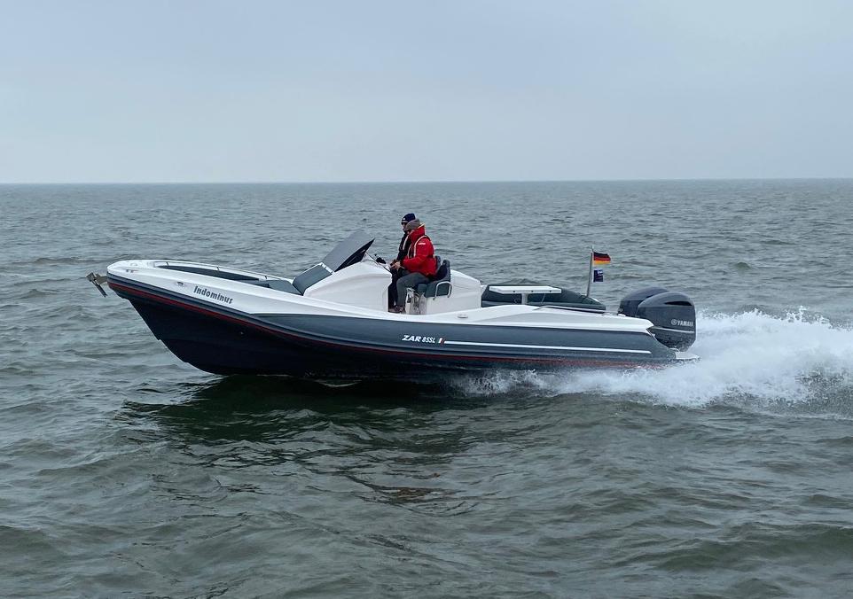 ZAR 85 SL Vorführboot jetzt zum Sonderpreis kaufen
