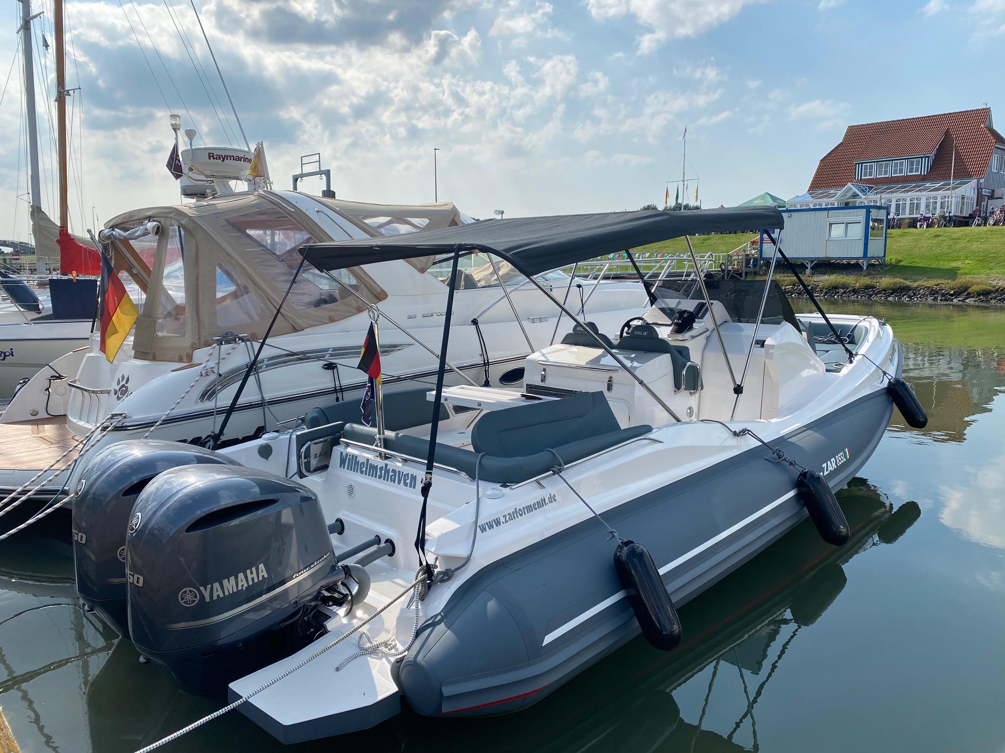 ZAR 85 SL Vorführboot